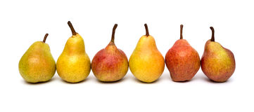 Ripe pearsd Royalty Free Stock Images