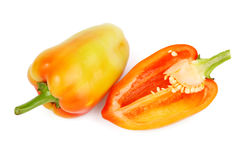 Ripe peppers Royalty Free Stock Photos