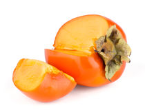 Ripe persimmon Stock Photo