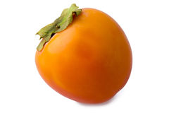 Ripe persimmon Royalty Free Stock Photos