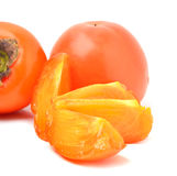 Ripe persimmon Stock Images