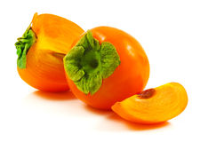 Ripe persimmon Stock Photography