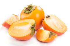 Ripe persimmon Stock Photo