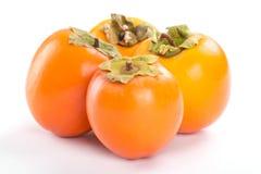Ripe persimmon Stock Images