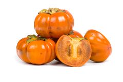 Ripe persimmons Stock Images