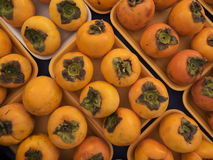 Ripe persimmons Stock Image