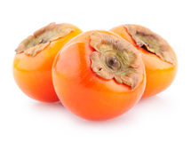 Ripe persimmons Stock Photography