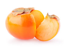 Ripe persimmons Royalty Free Stock Image