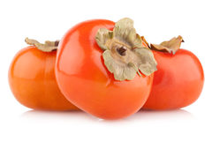 Ripe persimmons Stock Photo