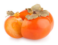 Ripe persimmons Royalty Free Stock Photo