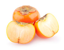 Ripe persimmons Royalty Free Stock Photography
