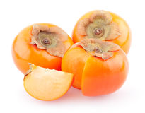 Ripe persimmons Royalty Free Stock Images