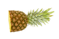 Ripe pineapple. Royalty Free Stock Image