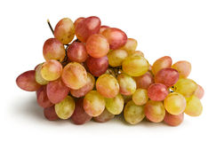 Ripe pink grapes Royalty Free Stock Image