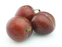 Ripe plum Stock Photo
