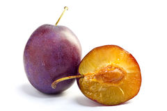 Ripe plum Royalty Free Stock Images