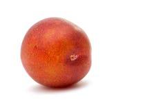 Ripe plum isolated Stock Photo