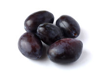 Ripe plums Royalty Free Stock Image