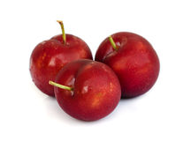 Ripe plums. Stock Images