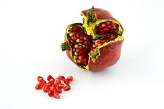 Ripe pomegranate Royalty Free Stock Photos