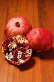 Ripe pomegranate Stock Photos