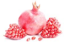 Ripe pomegranate Stock Photography