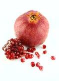 Ripe pomegranate Stock Images
