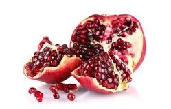 Ripe pomegranate fruit Royalty Free Stock Image