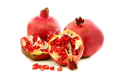 Ripe pomegranate fruit. Stock Photo