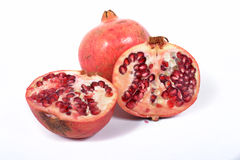 Ripe pomegranate fruit Royalty Free Stock Photos