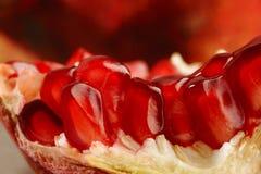 Ripe pomegranate fruit Stock Photo