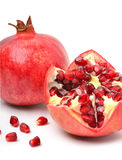 Ripe pomegranate fruit Royalty Free Stock Photography