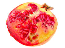 Ripe pomegranate fruit Royalty Free Stock Photo
