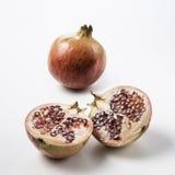 Ripe pomegranate fruit Stock Photography