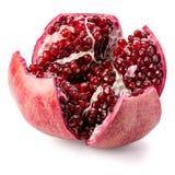 Ripe pomegranate fruit Stock Image