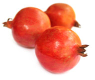 Ripe pomegranate fruits Stock Photo