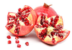 Ripe pomegranate fruits Royalty Free Stock Photography