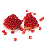 Ripe pomegranate piece Royalty Free Stock Photography