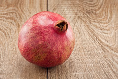 Ripe pomegranate Stock Images