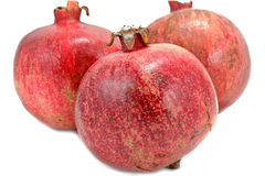 Ripe pomegranates Stock Photos