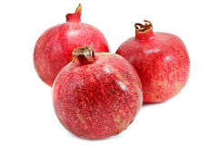 Ripe pomegranates Stock Image