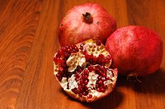 Ripe pomegranates Royalty Free Stock Photography