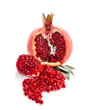Ripe pomegranates Royalty Free Stock Photo