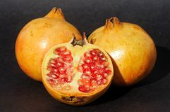 Ripe Pomegranates. Royalty Free Stock Photography