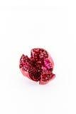 Ripe pomegranates isolated. Royalty Free Stock Photography