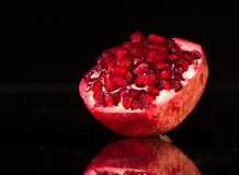 Ripe pomergranate Royalty Free Stock Photos