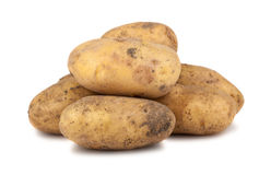 Ripe potatoes Stock Photo