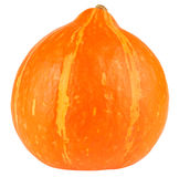 Ripe pumpkin isolated Stock Photo