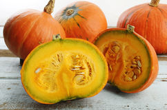 Ripe pumpkin Stock Images