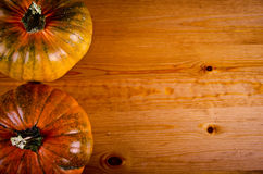 Ripe pumpkins for Halloween. Stock Photo